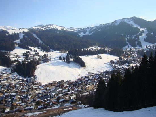 Chalet Aventure : Les Gets from Mont Chery