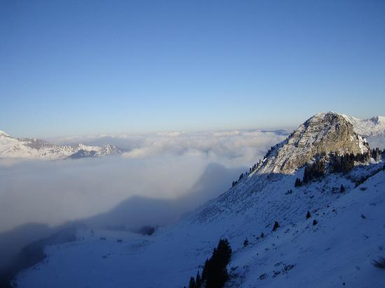Chalet Aventure : Top of Chamossiere