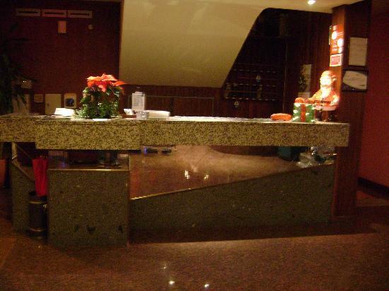 Hotel Aeroporto: The Residencial Aeroporto-Reception