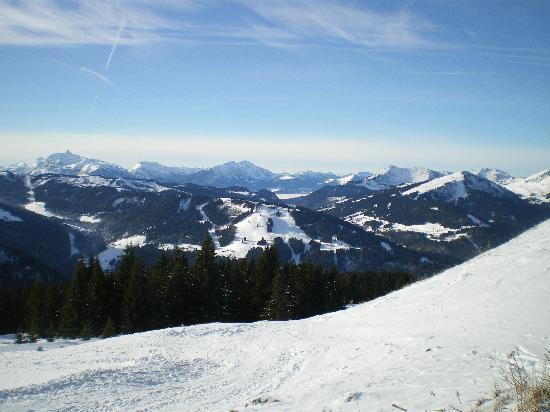 Chalet Hotel StarLight: View from the lift.