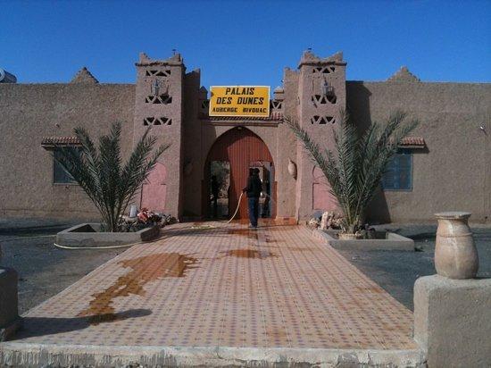 Palais des dunes: entree