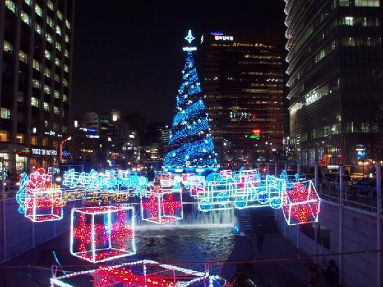 Cheonggyecheon: 2011年12月末