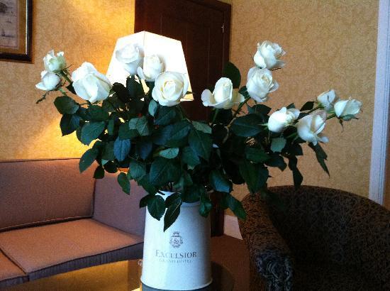 Mercure Catania Excelsior: roses