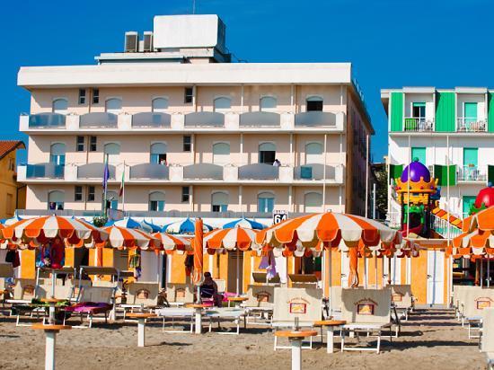 Hotel Meritime : Hotel direttamente sul mare a Igea Marina