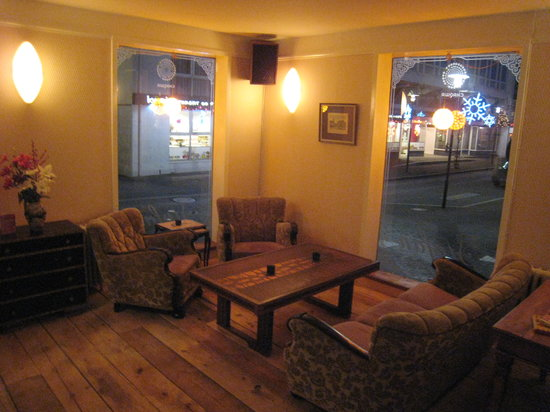 Stofan Cafe: one of our livingrooms