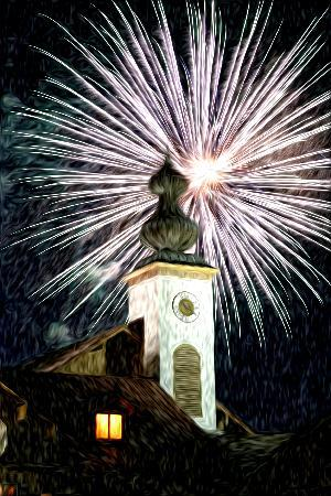 Bavarian Inn Lodge: Enjoy the Free Fireworks celebration during 4th of July Celebration!