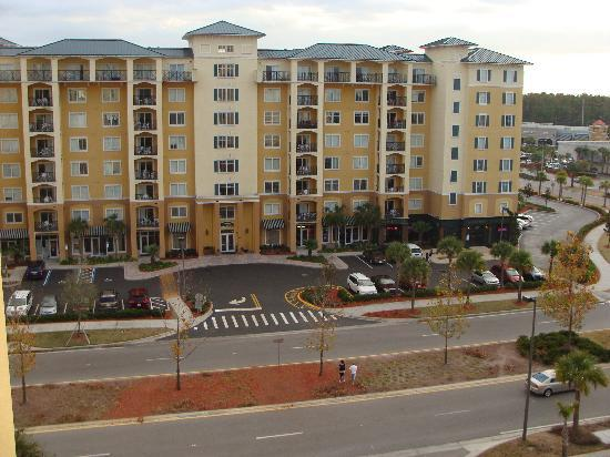 view from 12th floor picture of lake buena vista resort. Black Bedroom Furniture Sets. Home Design Ideas