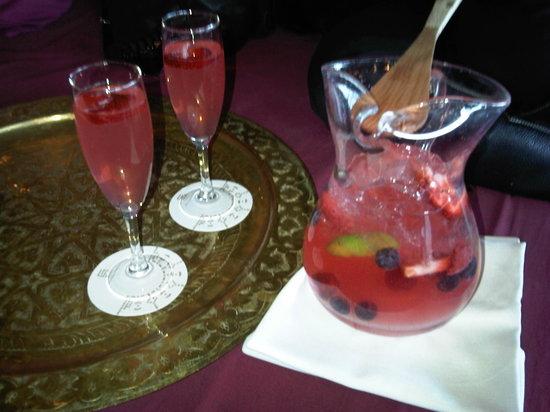 Cdlc : sangria with cava, delicious and so pretty