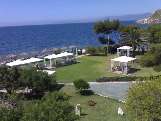 View from balcony (very sunny) - Foto di Hotel Ristorante ...