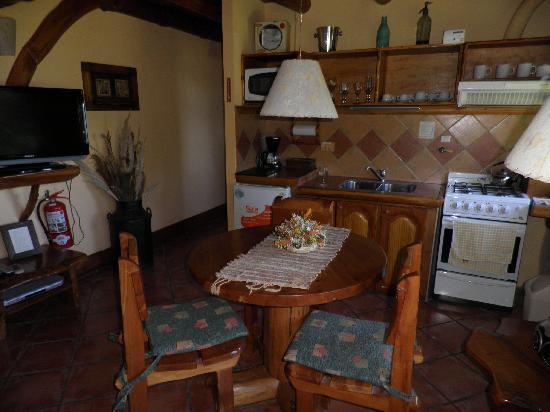 Cabanas La Deseada: Living comedor