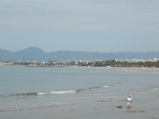 Santa Monica Playa: PLAGE ET DIGUE