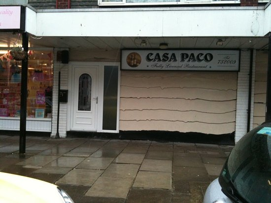 Casa Paco Restaurant: front of building