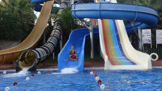 water slids picture of delphin palace hotel antalya tripadvisor