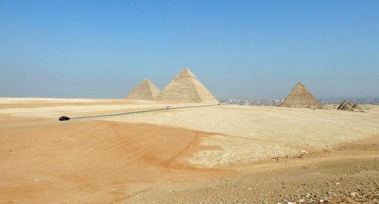 Giza Panorama – photo taken while touring with Rasha of Egypt Sunset Tours