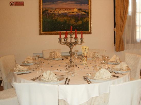 Casino di Terra, Italy: special dinners and weddings