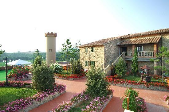 Casino di Terra, Italy: another view of fattoria Belvedere