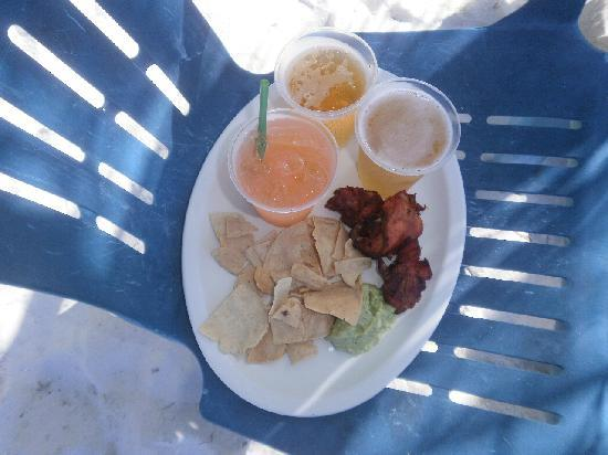Isla Pasion: Food at Pasion Island