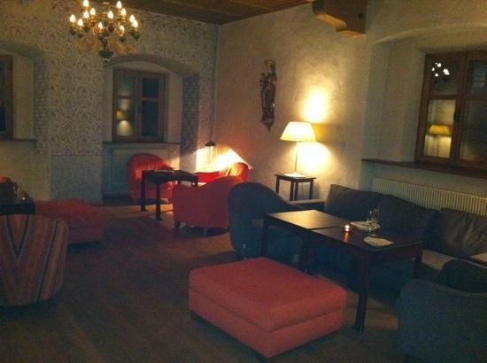Hotel Schloss Sonnenburg: salotto hall