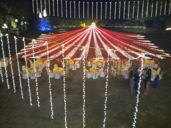 Tollygunge Club: The decorations outside changed almost every night