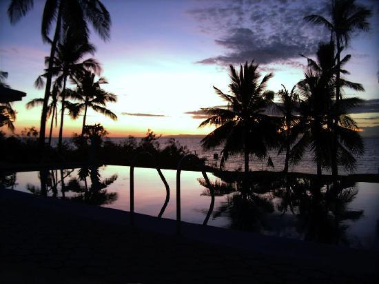 Villa Rosa: Sonnenuntergang in der Villa-Rosa