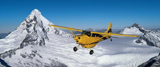 Southern Alps Air - Scenic Flights : Mt Aspiring