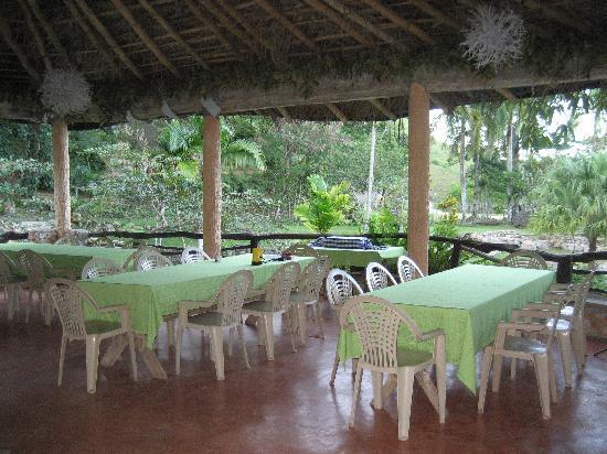 Paraiso Cano Hondo: Dining area