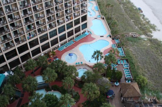 Beach Cove Resort A View From Tower B
