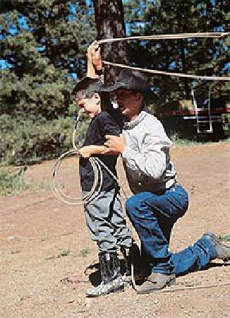 Majestic Dude Ranch: Learn rope tricks!