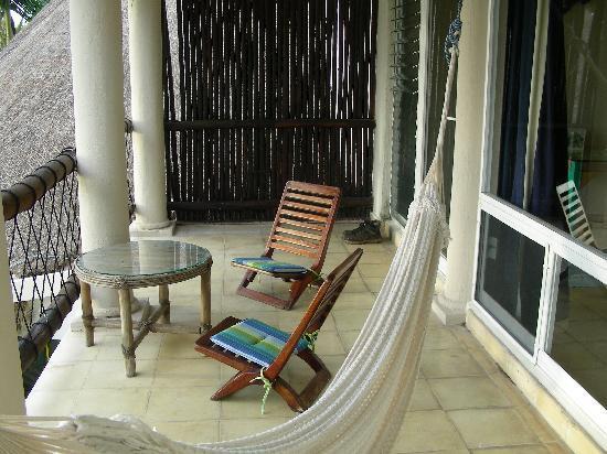 Las Ranitas Eco-boutique Hotel: Our outdoor patio.