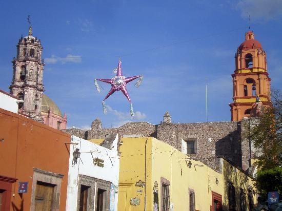 Hotel Posada de San Francisco: Im wunderschöen San Miguel de Allende...