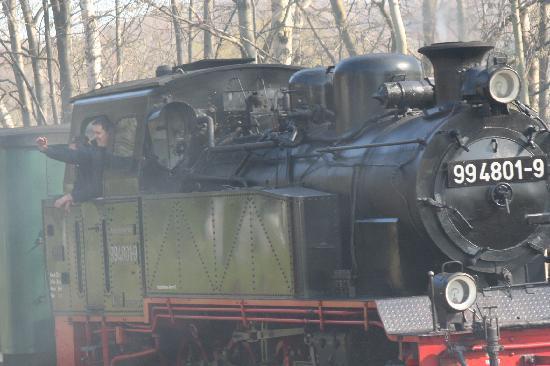 Ostseebad Binz, Allemagne : Rasender Roland zum Jagdschloss