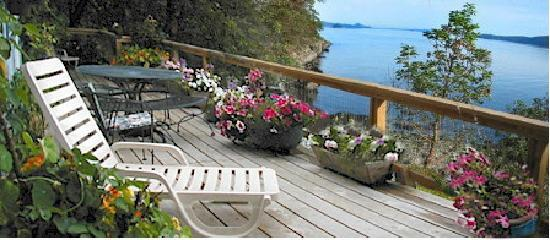 Spindrift Oceanfront Cottages : Beautiful Oceanfront Views
