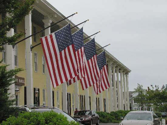 Cape May, NJ: Congress Hall Flags
