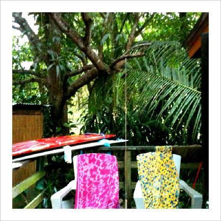 Villa Orleans: porch