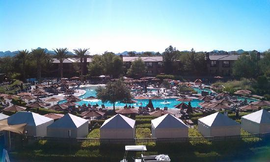 Our view of the pool.