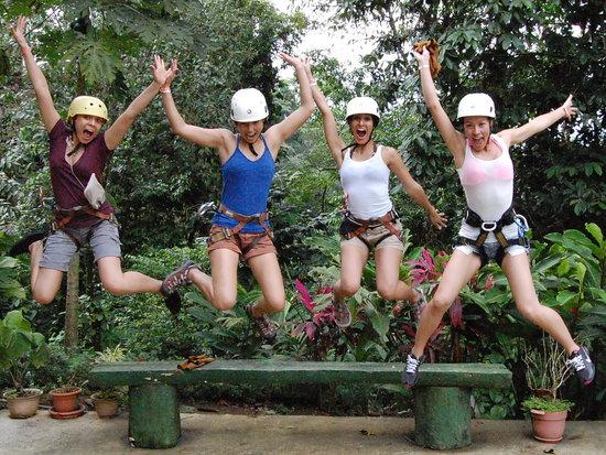 La Fortuna de San Carlos, Costa Rica: We have 2 rules at Desafío: 1) Be Safe 2) Have Serious Fun!