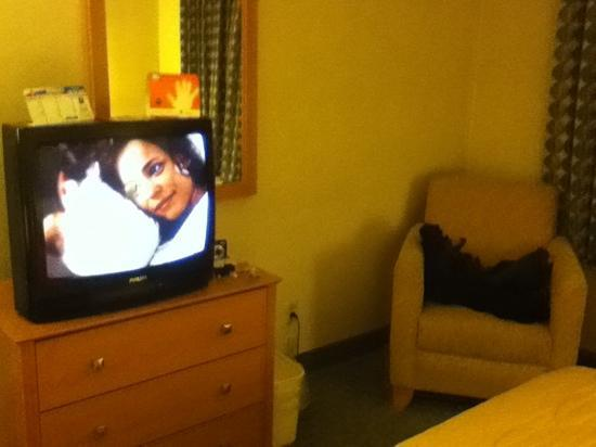 Quality Inn : sitting area