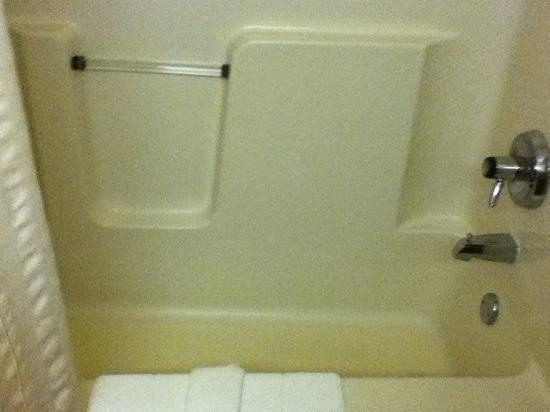 Quality Inn: clean shower