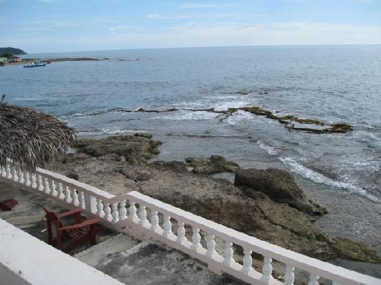Sunset Resort & Villas: Pool patio area - panorama 8of9