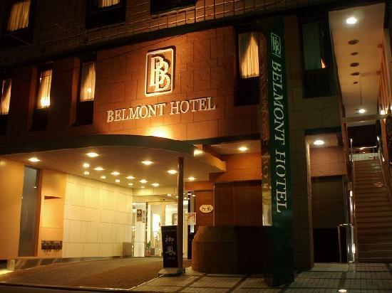 Belmont Hotel: 夜の照明は雰囲気もいいですね