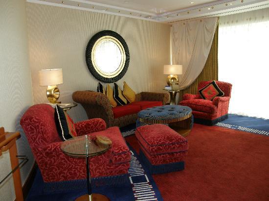Burj Al Arab Jumeirah: Suite planta superior habitacion
