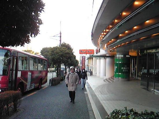 Keikyu EX Inn Takanawa: shuttle bus to Daiba area