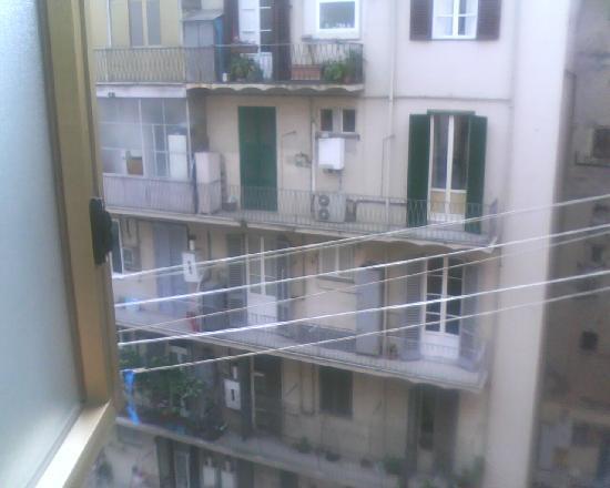 Hotel Domus Mea : vista dalla finestra