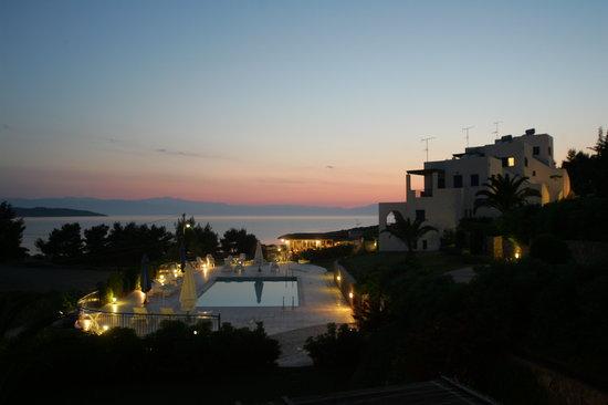 Peloponnese, Hellas: Lepitsa Sunset