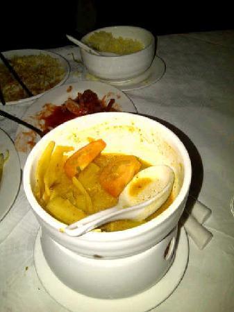 Charde Oriental Restaurant: Strange 'Thai' curry.