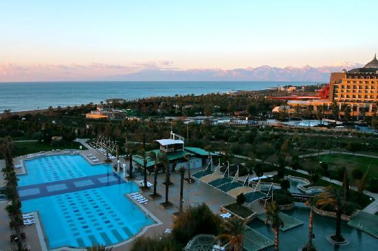 Concorde De Luxe Resort: The early morning view from room 5031