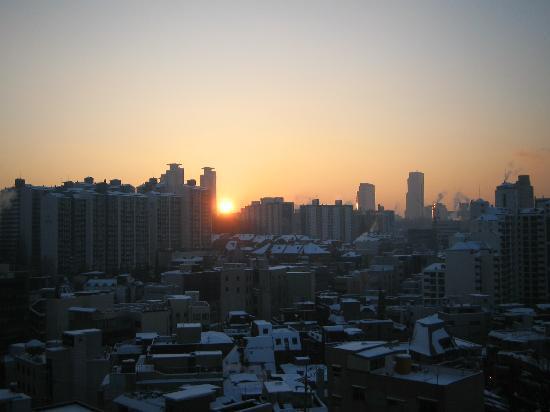 Seoul, South Korea: sunrise