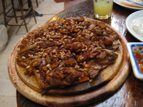 Alreda : Something like pizza