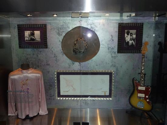 Hard Rock Hotel San Diego: Memorabilia that was throughout the Hotel, this was Hendrix memorabilia.