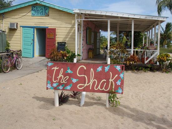 The Shak Beach Cafe: The Shak!